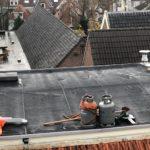 lekkage bitumen dak verhelpen